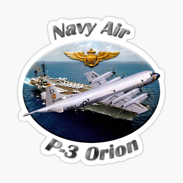 P-3 Orion Navy Air Sticker