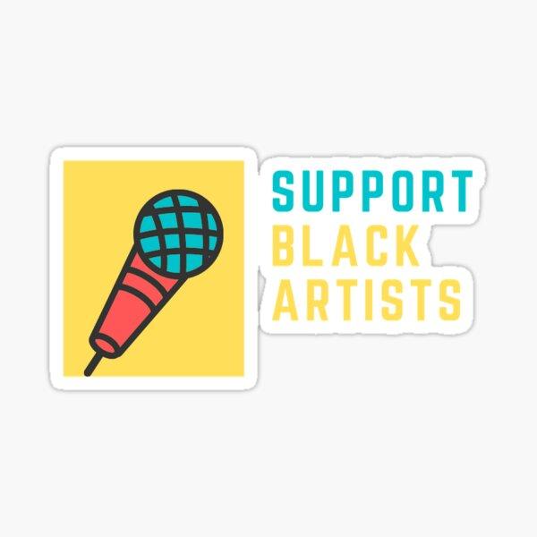 Black Artists Matter Sticker