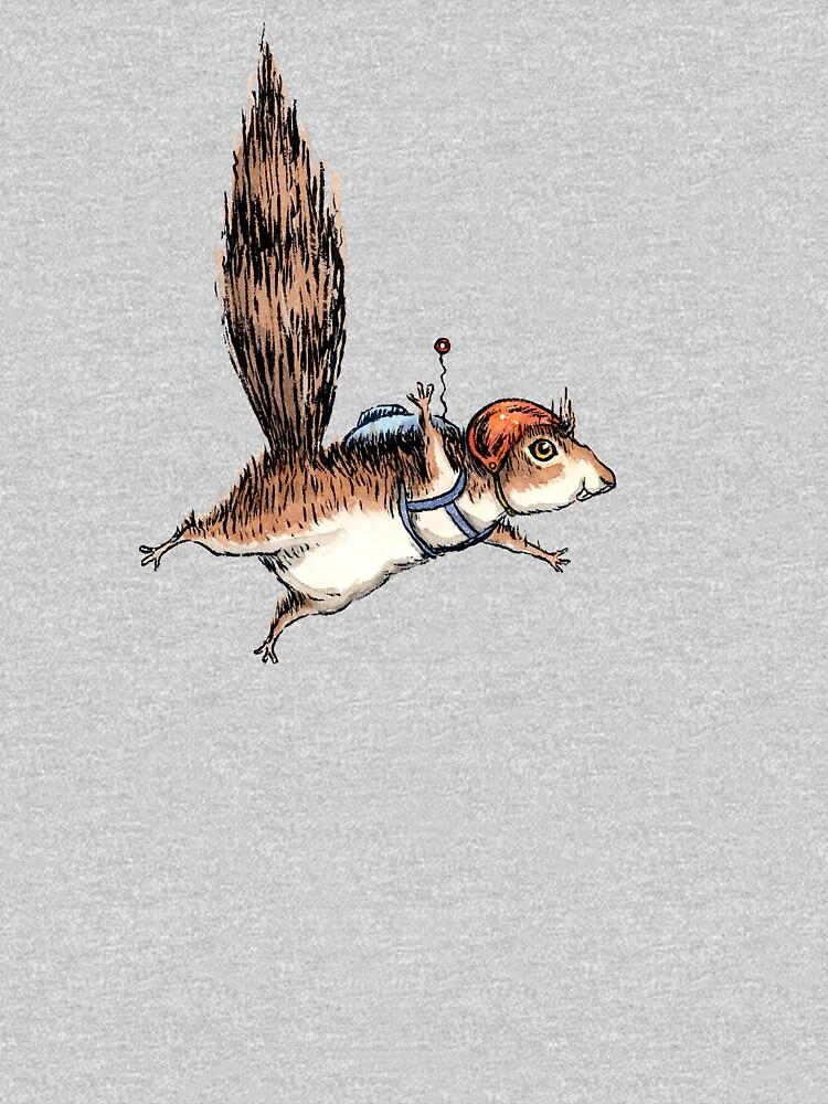 Skydiver Squirrel, Skydiving Adventure Design by joykolitsky