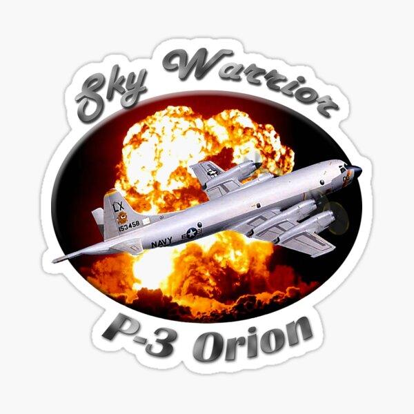 P-3 Orion Sky Warrior Sticker