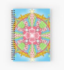 Sugar, Spice, and Everything Nice Kaleidoscope Spiral Notebook