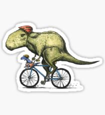 T-rex Bikers Sticker