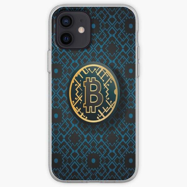Bitcoin Marketing Background iPhone Soft Case