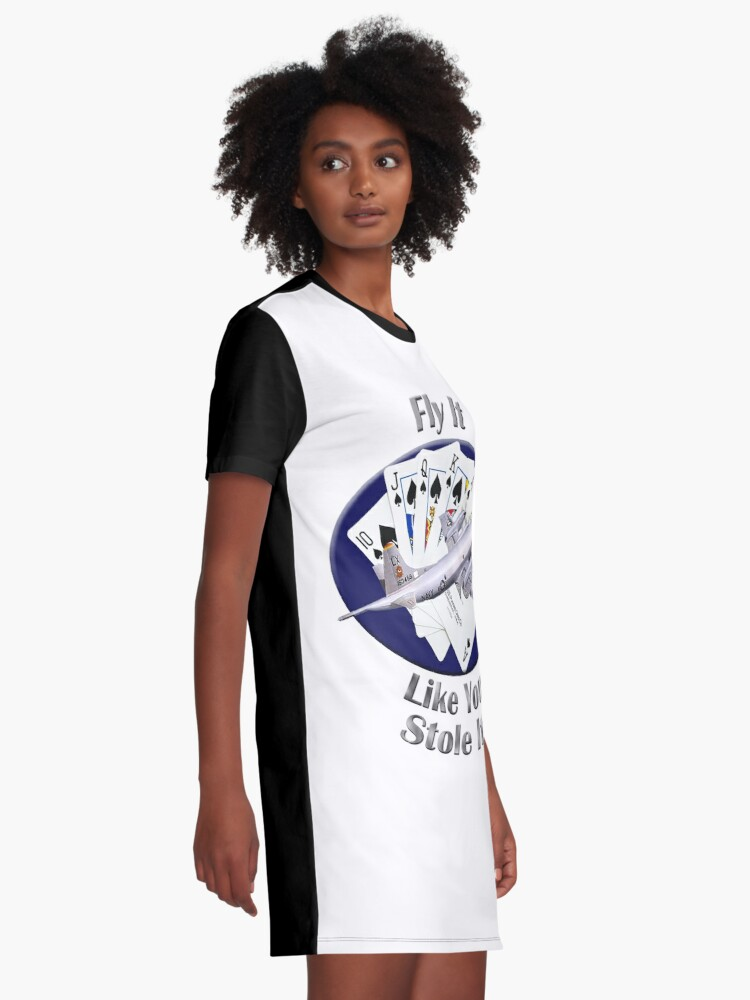Alternate view of P-3 Orion Fly It Like You Stole It Graphic T-Shirt Dress