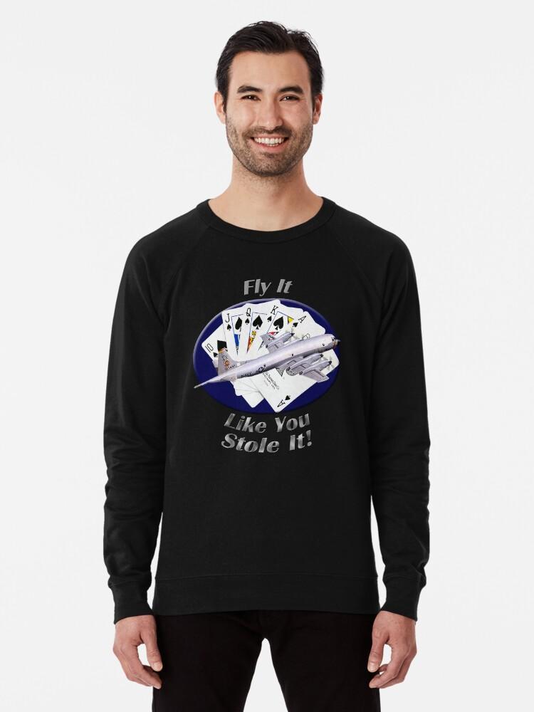Alternate view of P-3 Orion Fly It Like You Stole It Lightweight Sweatshirt