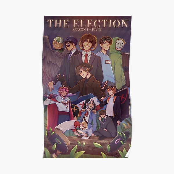 DreamSmp - The Election  Poster