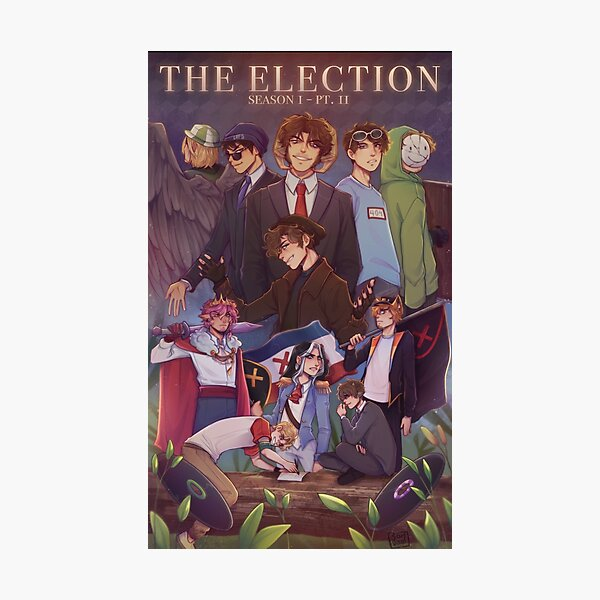 DreamSmp - The Election  Photographic Print