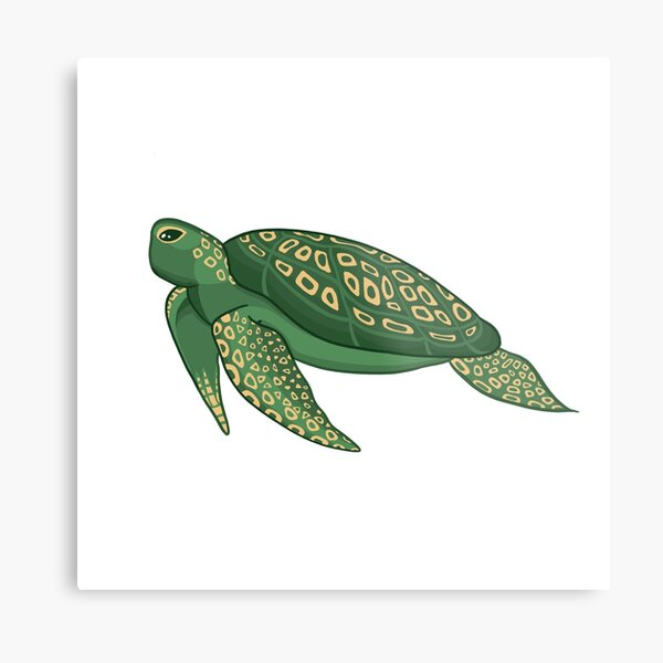 Tribal Hawaii Green Sea Turtles Text Graphics Decorative Shot Glass Polynesian