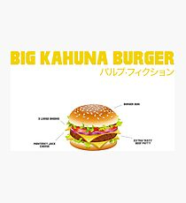 Big Kahuna Burger Photographic Print