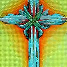 Extruded Cross by WildestArt