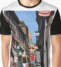 Old Town of Meersburg - Lake Constance, Germany Graphic T-Shirt