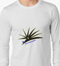 Bluetooth bug vector with text Long Sleeve T-Shirt