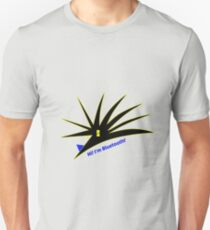 Bluetooth bug vector with text Unisex T-Shirt