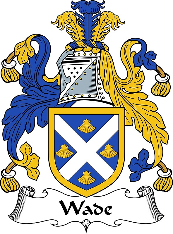 Quot Wade Coat Of Arms Wade Family Crest Quot Art Prints By