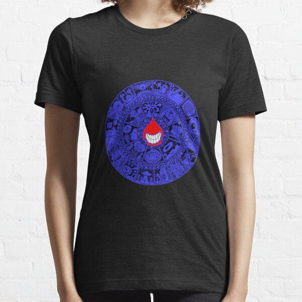 The Drop in Blue and Black Essential T-Shirt
