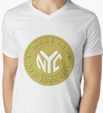 Made In New York Men's V-Neck T-Shirt