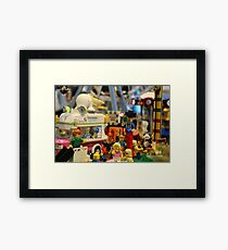 Lego City Framed Print