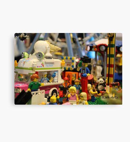 Lego City Canvas Print