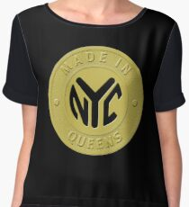 Made In New York Queens Chiffon Top