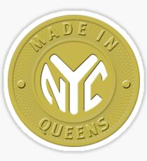 Made In New York Queens Sticker