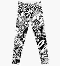The Drop Black and White Leggings