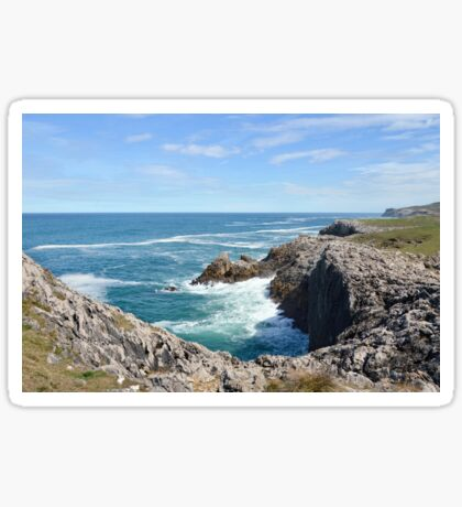 Coastal view Sticker