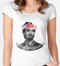 #rogelioismybrogelio Women's Fitted Scoop T-Shirt