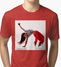 Breakdancing Tri-blend T-Shirt