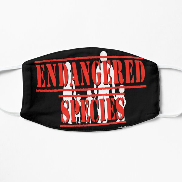 Endangered Species Flat Mask