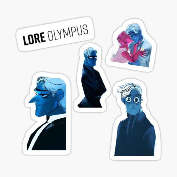 Lore Olympus design Sticker