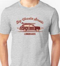 Big Woodie Smalls Longboards Unisex T-Shirt
