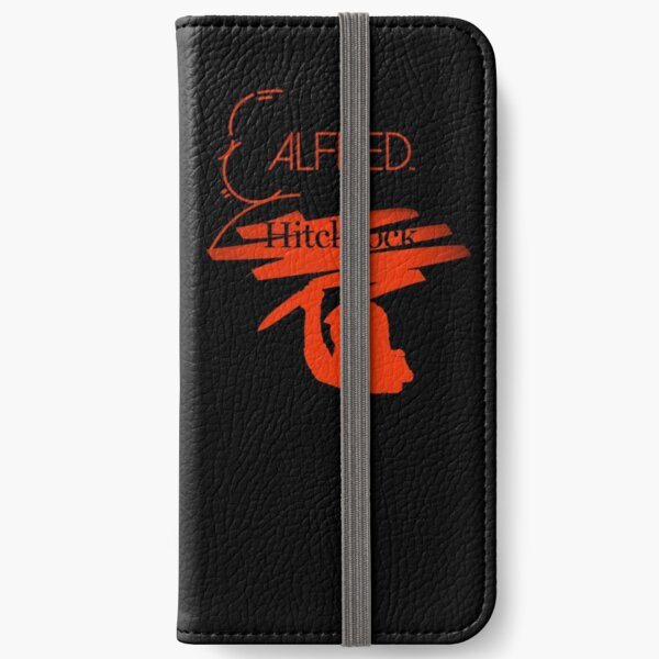 Alfred Hitchcock Psycho Assassin (Black Version) iPhone Wallet