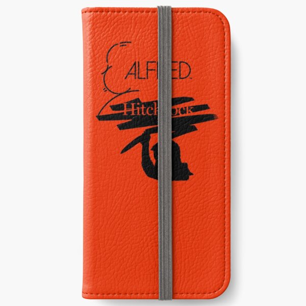 Alfred Hitchcock Psycho Assassin (Orange Version) iPhone Wallet