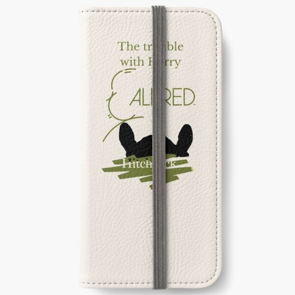 Alfred Hitchcock - The Trouble with Harry iPhone Wallet