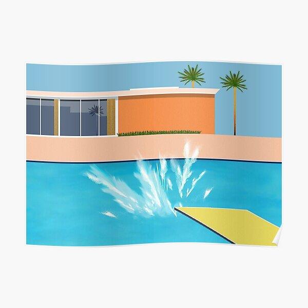 A Bigger Splash Pool Poster