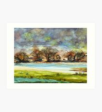 Quiet Dwellings Art Print