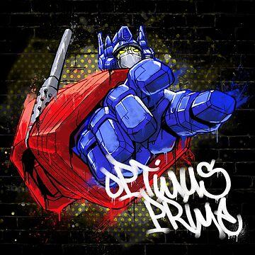 Optimus Prime Tee by lesleylo1214