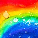 Rainbow Tears by Kari Sutyla
