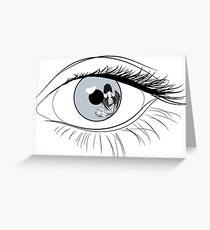 Eye Spy Batgirl Greeting Card