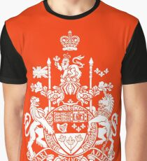 CANADA-COAT OF ARMS Graphic T-Shirt