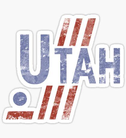 Utah Hockey Vintage Sticker