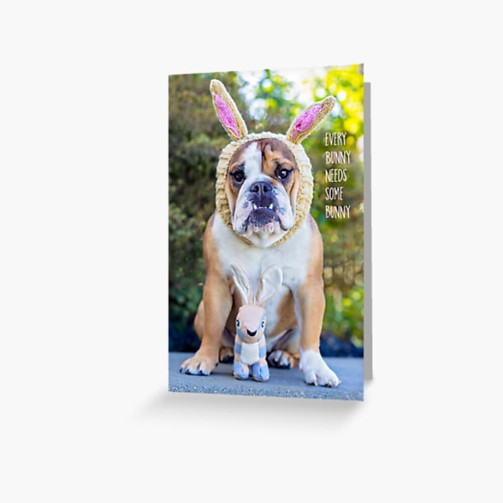 Gertie Easter Card Greeting Card