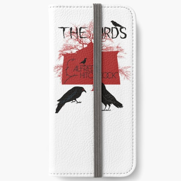 Alfred Hitchcock - The Birds (Red Version) iPhone Wallet