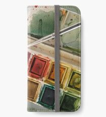 Watercolours iPhone Wallet
