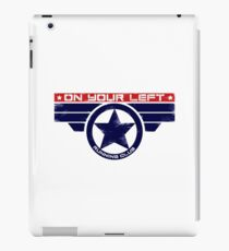 """On Your Left Running Club"" Hybrid iPad Case/Skin"