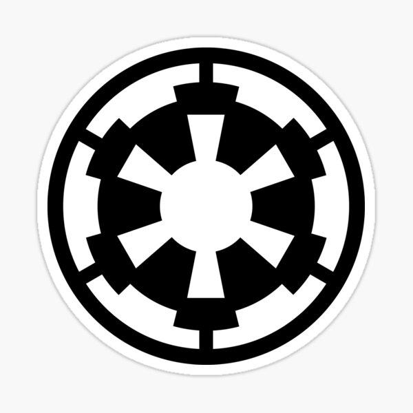 Empire Emblem Retro Sticker