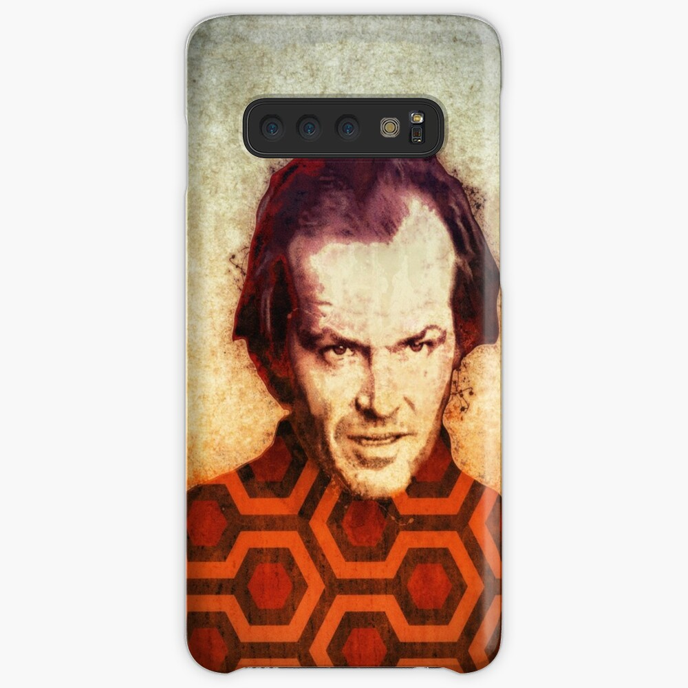 Jack Nicholson Kunst in Stanley Kubricks The Shining Hülle & Klebefolie für Samsung Galaxy