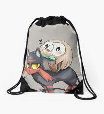 INTO BATTLE Drawstring Bag