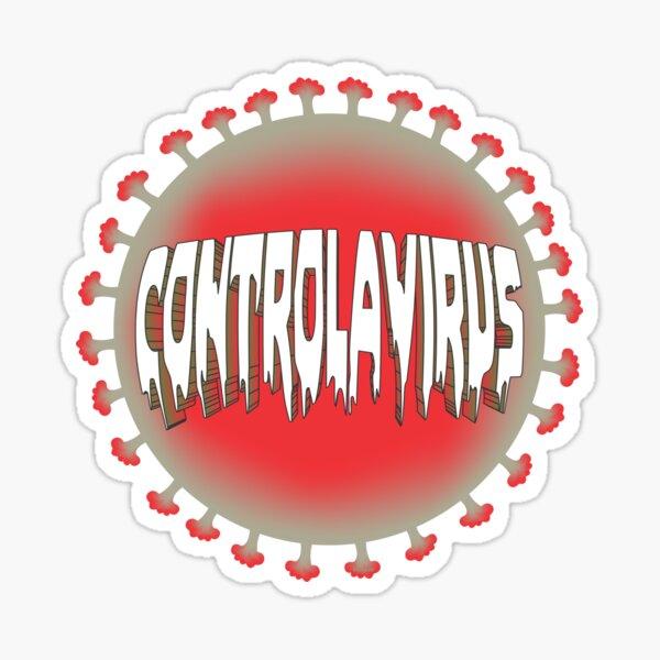 Controlavirus Sticker
