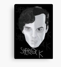 Sherlock V Moriarty Canvas Print